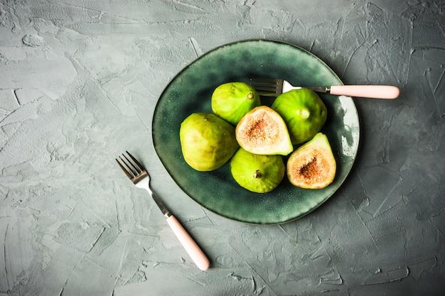 Concept d'aliments biologiques Photo Premium