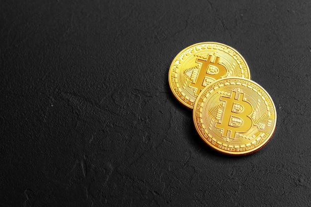 Concept bitcoin Photo Premium