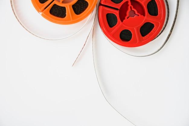 Concept de cinéma avec moulinet Photo gratuit