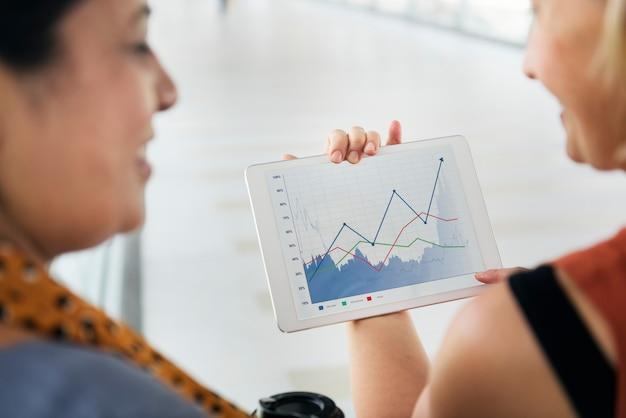 Concept de communication des gens d'affaires ensemble Photo Premium