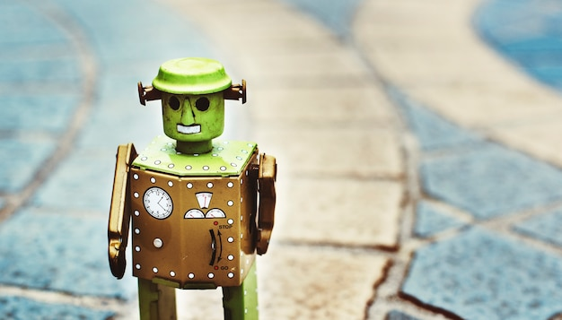 Concept De Conception De La Culture Future Du Monde Robot Photo gratuit