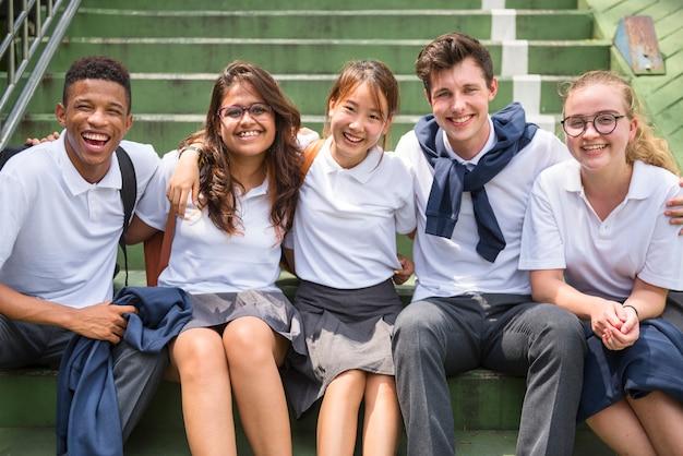 Concept de connaissances des étudiants en éducation Photo Premium
