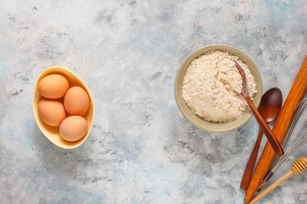 Concept de cuisson de la tarte aux pommes automne Photo gratuit