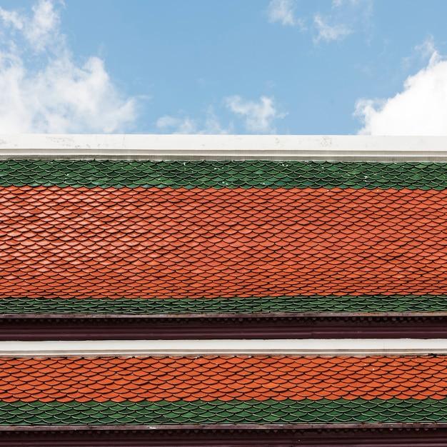 Concept de décoration en or de style thaï Photo gratuit