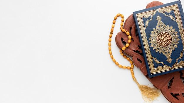 Concept Du Nouvel An Islamique Avec Espace Copie Photo Premium