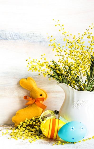 Concept de fête de pâques Photo Premium