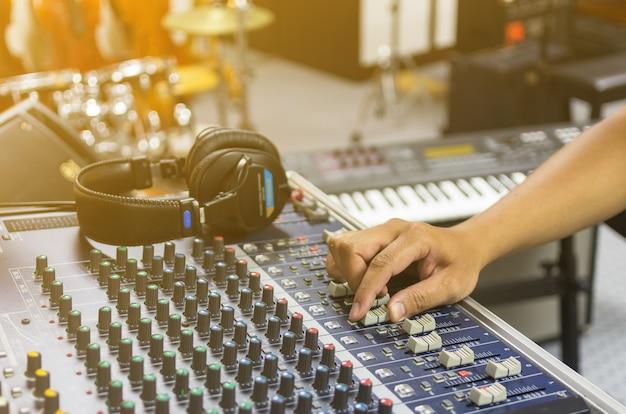 Concept d'instrument de musique Photo Premium