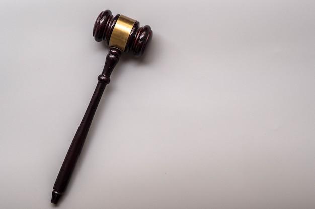 Concept juridique et gavel Photo Premium