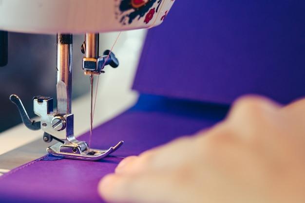 Concept De Machine à Coudre Design Scrapbooking Photo Premium