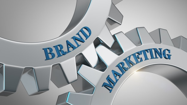 Concept de marketing de marque Photo Premium