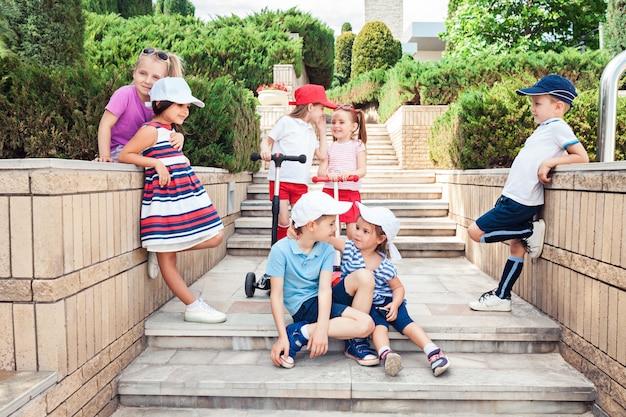 Concept De Mode Pour Enfants Photo gratuit