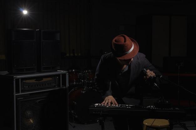 Concept musicien Photo Premium