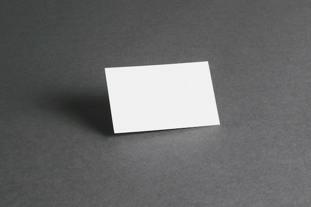 Concept De Papeterie Avec Carte Visite Vierge