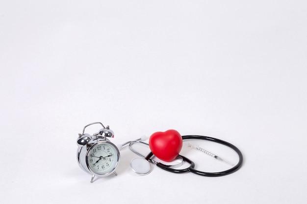 Concept pour chronométrage médical et médical Photo Premium