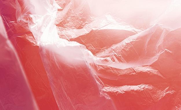 Concept De Sac En Plastique Abstrait Rouge Photo gratuit