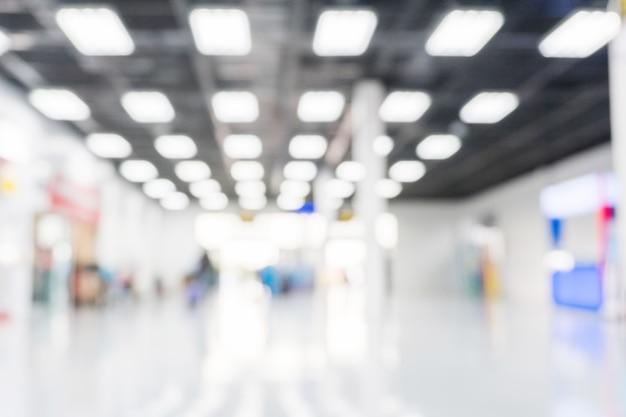 Concept De Terminal D'aéroport Fond Flou Photo Premium
