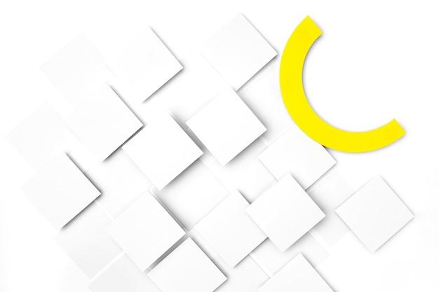 Conception De Fond De Carrés Blancs Photo gratuit