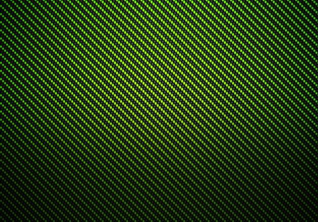 Conception matérielle abstraite de fibre de carbone verte Photo Premium