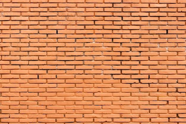 Conception de texture urbaine de briques sur un mur Photo gratuit