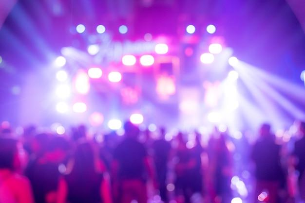 Concert d'arrière-plan flou Photo Premium