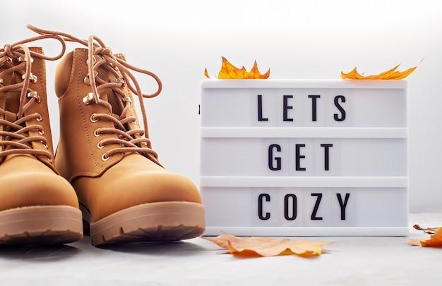 Confortable tenue chaude par temps froid. Photo Premium