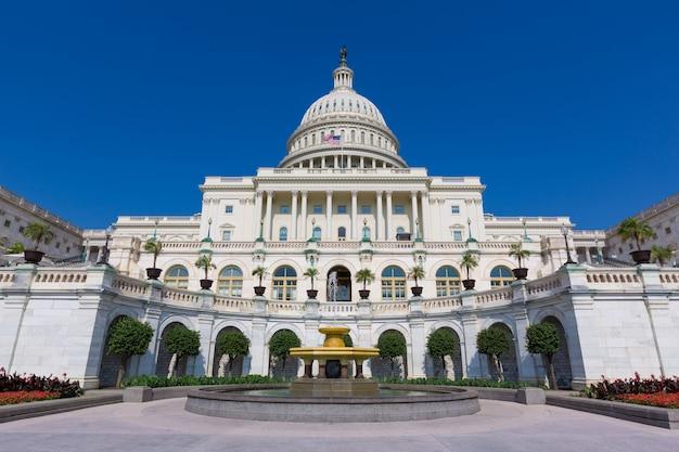 Congrès du capitole à washington dc usa Photo Premium