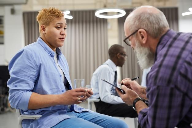 Consultation En Santé Mentale Photo Premium
