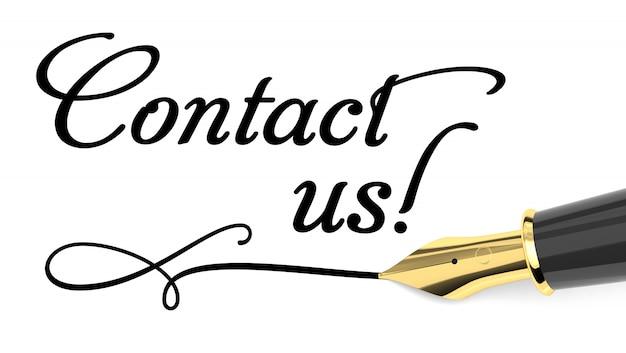 Contactez nous Photo Premium