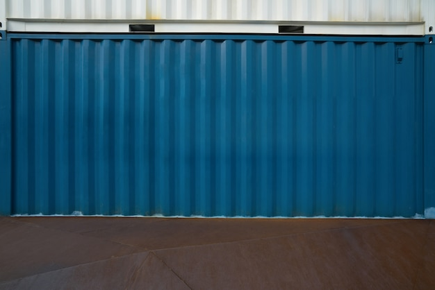 Conteneur de transport industriel Photo Premium