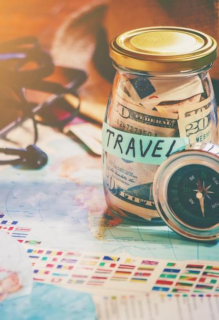 Contexte du voyage Photo Premium