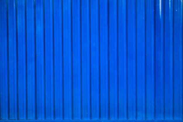 Contexte de ligne rayée conteneur boîte bleue Photo Premium