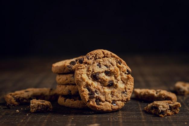 Cookies Les Uns Sur Les Autres Photo gratuit