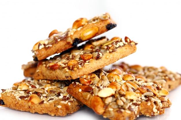 Cookies Avec Différents Ingrédients Photo gratuit