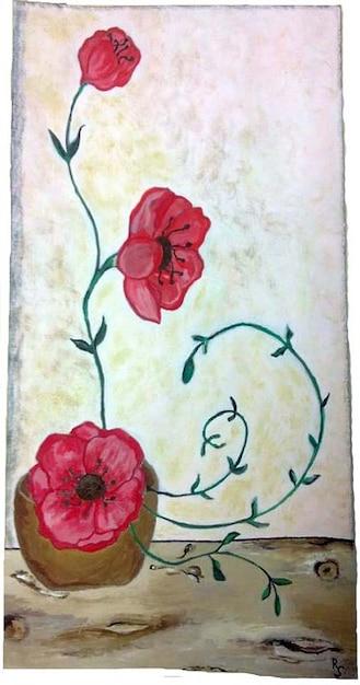 Coquelicots Fleurs Peinture Dessin Telecharger Des Photos Gratuitement