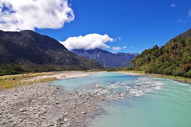 Côte Ouest De L'île Du Sud En Nouvelle-zélande Photo Premium