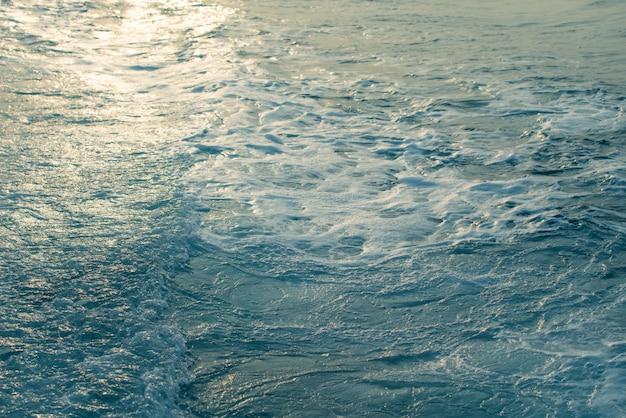Coucher de soleil sur mer Photo Premium