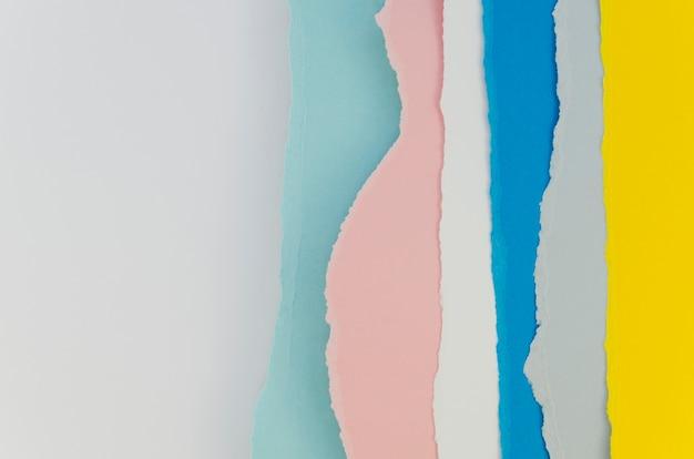 Couches De Papiers De Couleur Pastel Photo gratuit