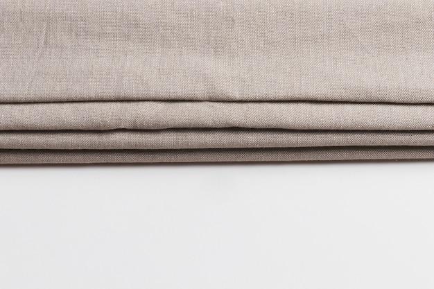 Couches Pliables De Matériaux En Tissu Photo gratuit