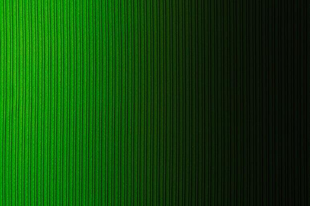 Couleur De Fond Décoratif Vert, Texture Rayée, Dégradé Horizontal. Fond D'écran. Art. Conception. Photo Premium
