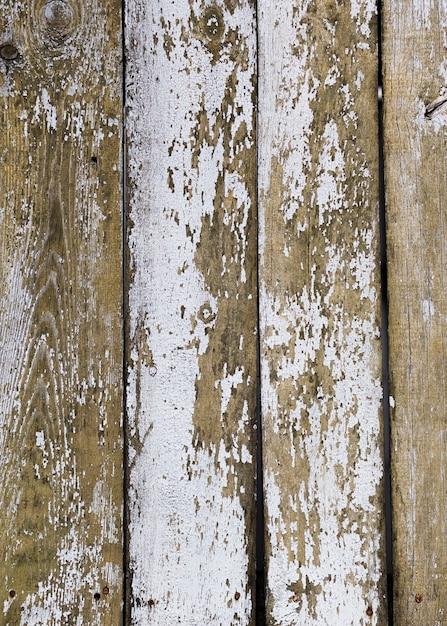 Couleur pelée de la texture en bois Photo gratuit