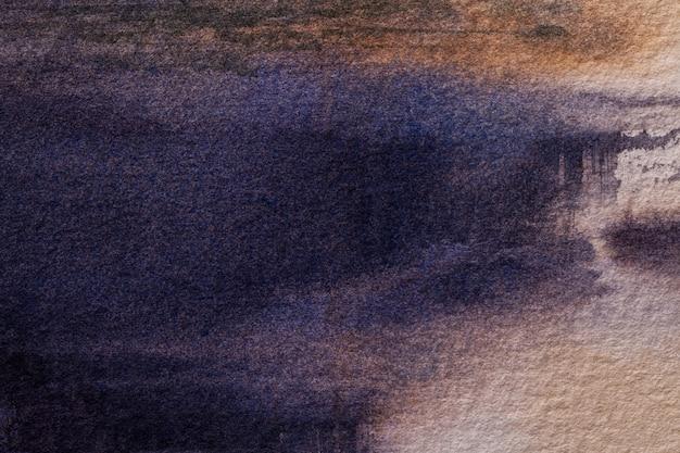 Couleurs Bleu Marine De Fond D'art Abstrait. Photo Premium
