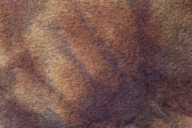 Couleurs marron foncé et beige de l'art abstrait. Photo Premium
