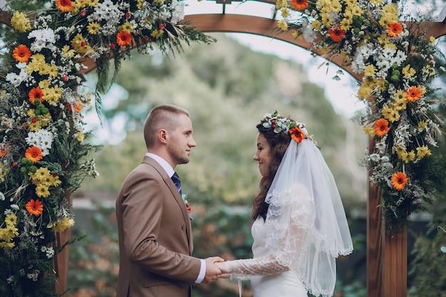 Couple à L'autel Photo gratuit