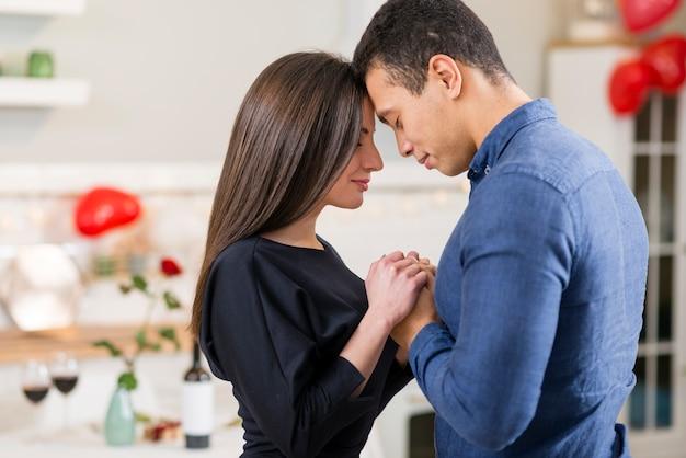 Couple, Tenue, Mains, Saint-valentin, Copie, Espace Photo gratuit