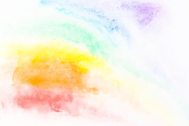 Coups de peinture multicolores Photo gratuit