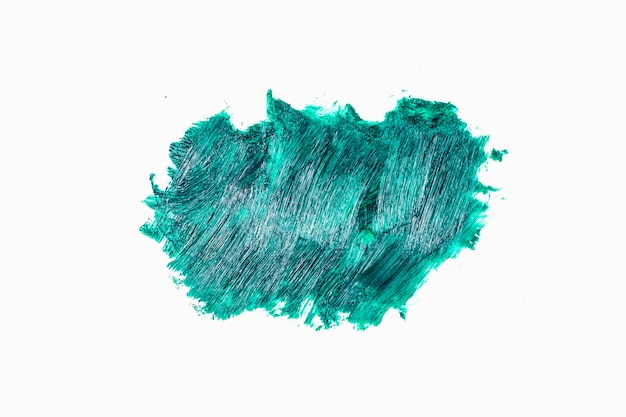 Coups de pinceau abstraits en acrylique ou en couleurs à l'huile Photo Premium