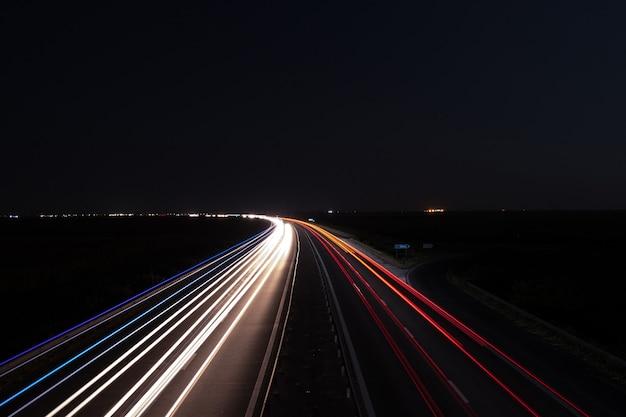 Courbe de voiture Photo Premium