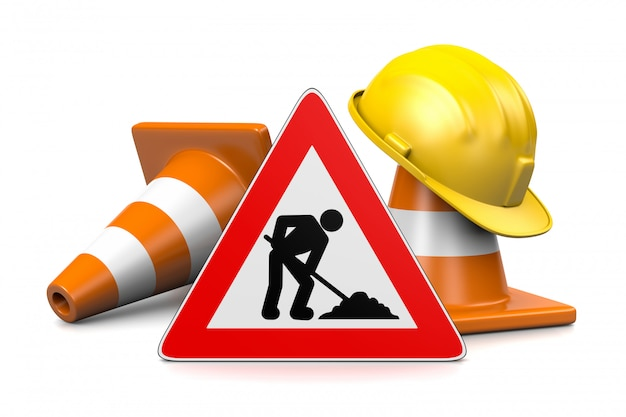 En Cours De Construction Concept | Photo Premium