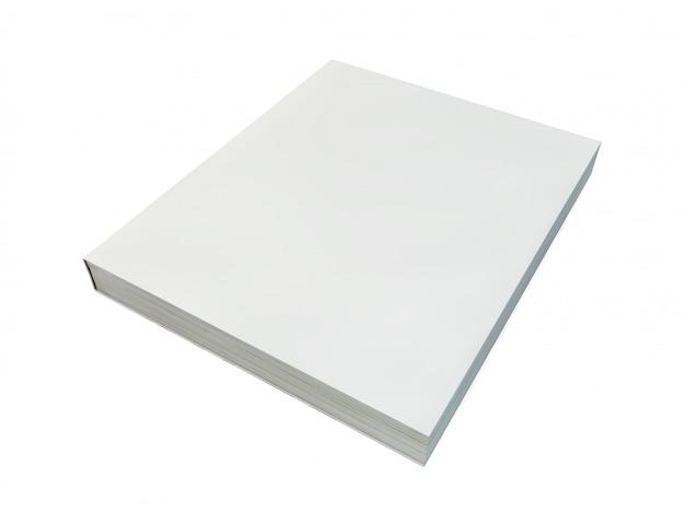 Couverture De Livre Vierge Photo Premium