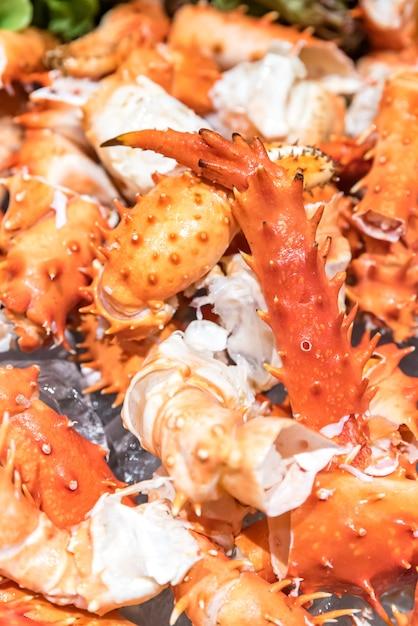 Crabe royal de l'alaska Photo Premium